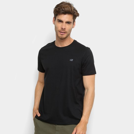 2d9aa08655638 Camiseta Ellus 2nd Floor Co Basic Masculina - Preto - Compre Agora ...