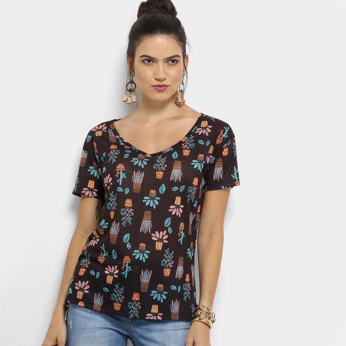Camiseta Cantão Cachepot Feminina