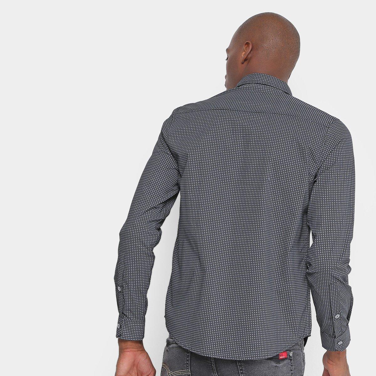 Camisa Opera Rock Bordado Estampa Masculina - Tam: G - 1