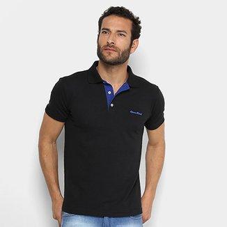 Camisa Polo Opera Rock Piquet Com Bordados Masculina f04e469985570