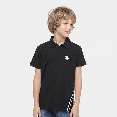 Camisa Polo RG 518 Detalhe Costas Infantil