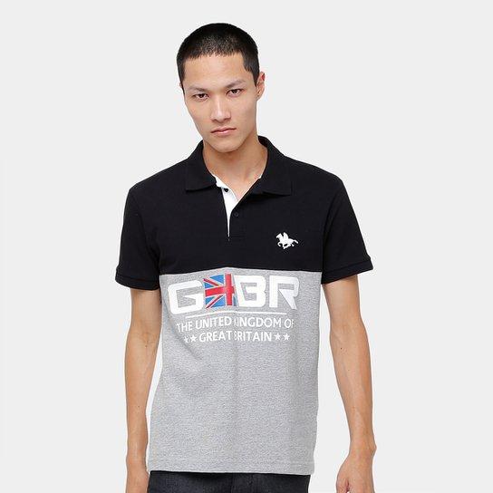 Camisa Polo RG 518 Piquet Recorte BR Masculina - Compre Agora  88ce1a4d18b75