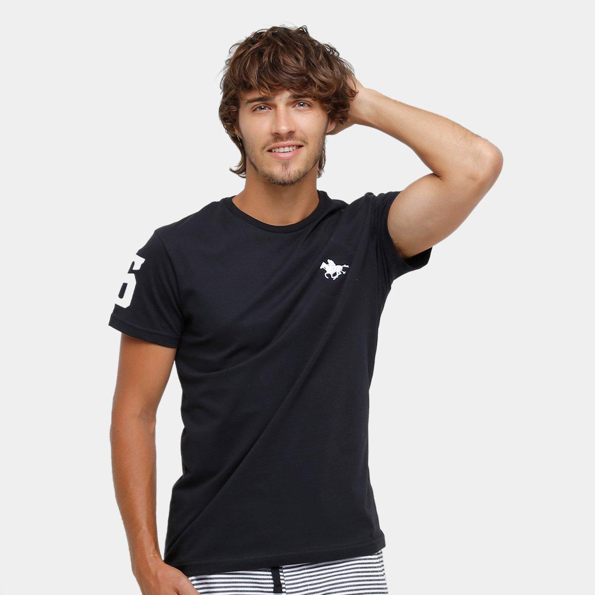 bafb21614b Camiseta RG 518 Básica Bordada Masculina - Tam: P - Shopping TudoAzul