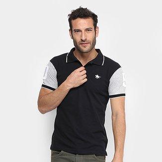 Camisa Polo RG 518 Piquet Bordado Masculina fd04a91eb5068