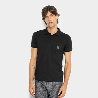 Camisa Polo RG 518 Piquet Bolso Masculina c0df5f39d15d1