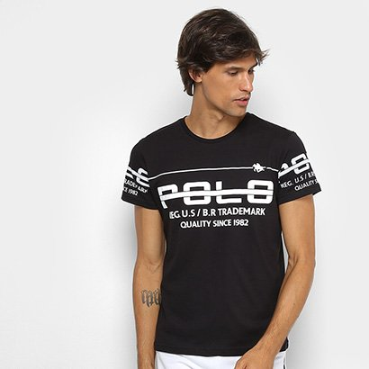 Camiseta RG 518 Meia Malha Estampada Masculina
