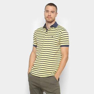 c75e0445ef2e7 Camisa Polo Aleatory Estampa Listrada Masculina