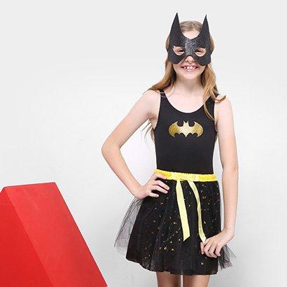 Fantasia Infantil Sulamericana BatGirl