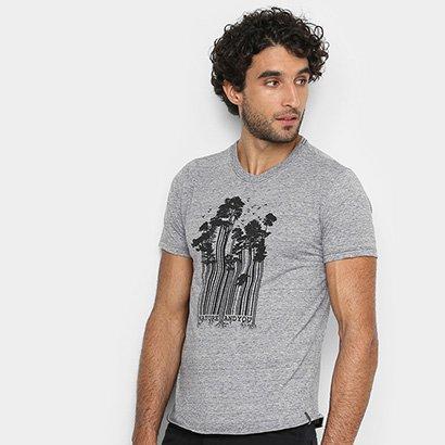 Camiseta Malwee Slim Malha Sustentável Masculina