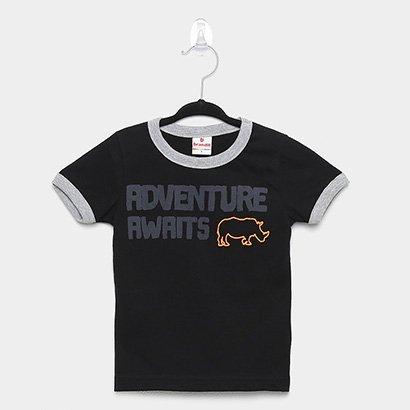 Camiseta Infantil Brandili Adventure Masculina
