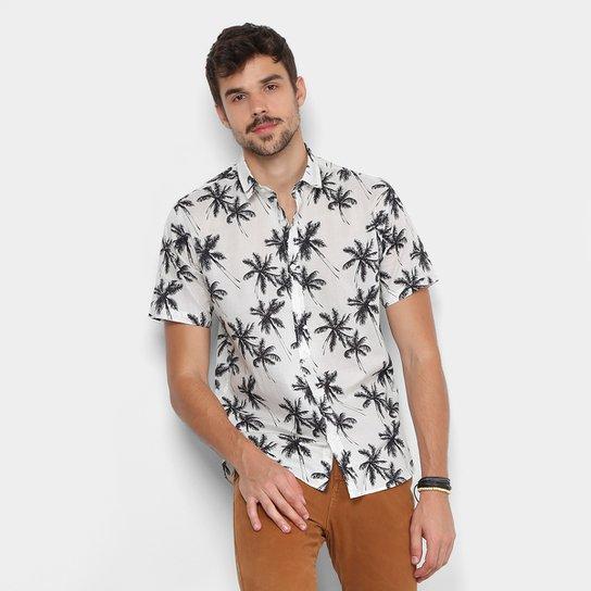 Camisa Foxton Manga Curta Coqueiros Masculina - Compre Agora  973a7cc7b8b12