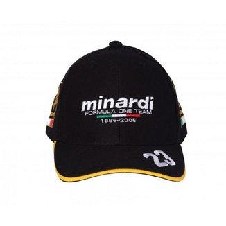 Boné Fórmula Retrô Minardi Bordado 09230ec7fed