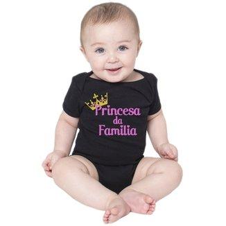 Body Bebe Princesa da Família Roupas Menina Bodies Criativa Urbana 5f39c954414e7