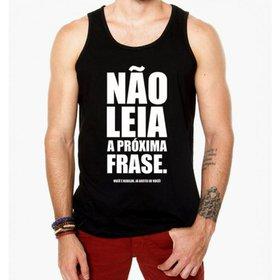 Camiseta Regata Criativa Urbana Academia Frases - Branco - Compre ... 31a1e12faa2