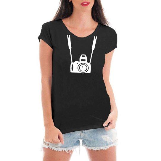 Camiseta Criativa Urbana Fotográfica - Preto - Compre Agora  8aad4800b7c