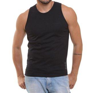 3cda3a41c0 Camiseta Regata Masculina Oitavo Ato Lisa Básica Mescla