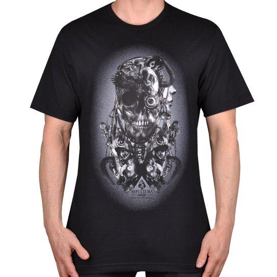 Camiseta Mcd Machine Sepultura - Compre Agora  58212c80d2f