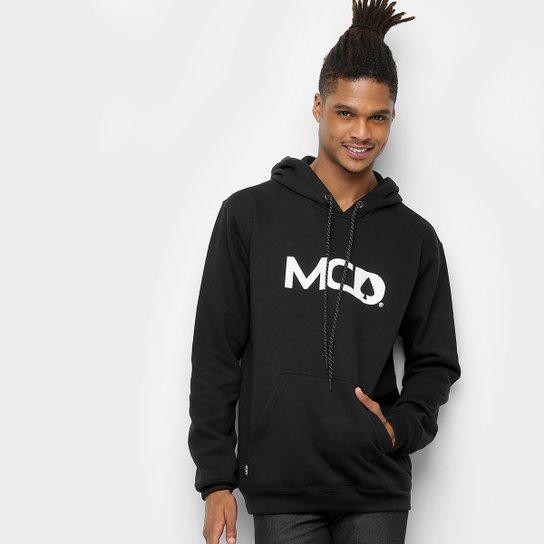 Moletom MCD Capuz Masculino - Preto - Compre Agora  57ac2ddba8d