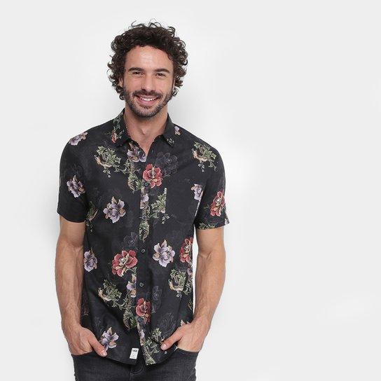 Camisa MCD Spinal Bloom Masculina - Compre Agora  a2c4fea483f