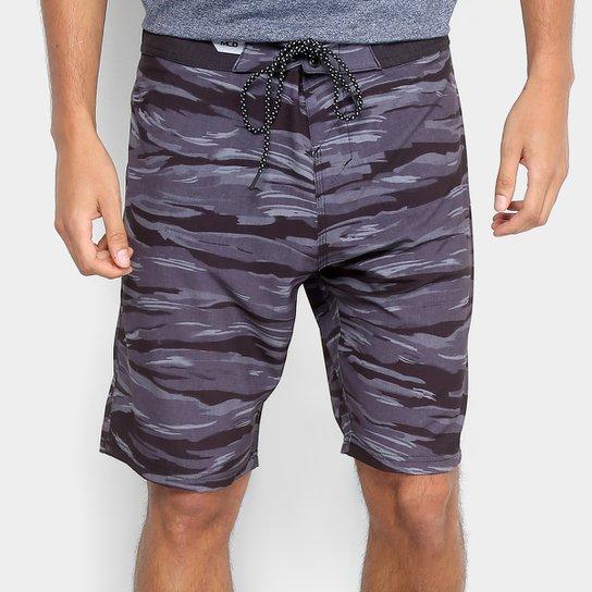 Boardshort MCD Camouflage Masculino - Preto - Compre Agora  590fb1200ea