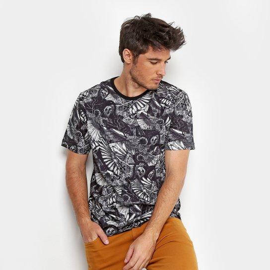 Camiseta MCD Especial Full Bird Bloom Masculina - Preto - Compre ... 6ad6a9e1134