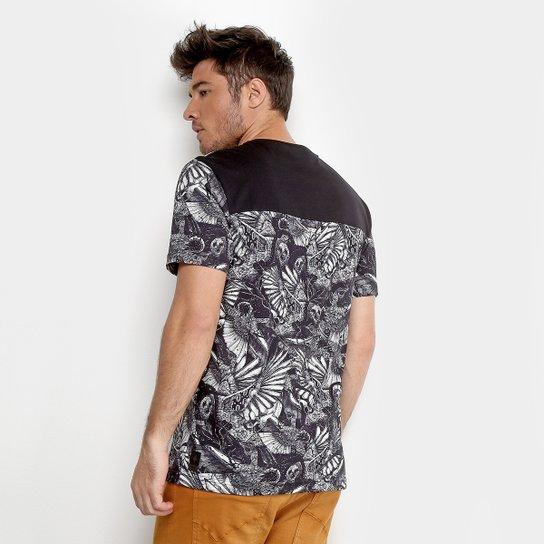 0eceb783b2 ... Camiseta MCD Especial Full Bird Bloom Masculina - Preto ...