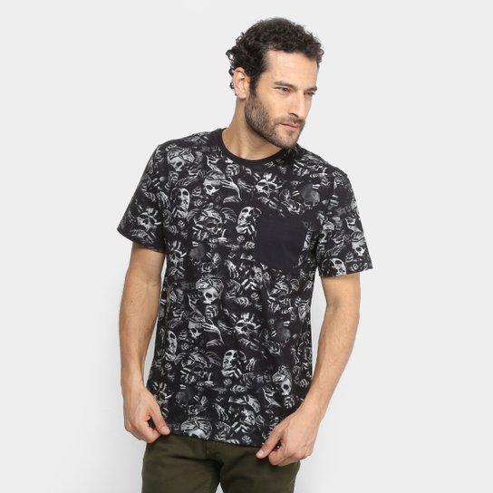 5fe90ef4d9ac0 Camiseta MCD Especial Full Nightmare Masculina - Preto - Compre ...