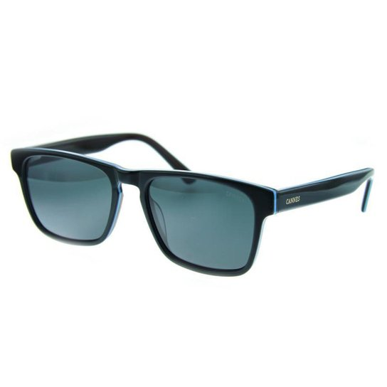 b202bbef36 Óculos de Sol Cannes Metal Proteção UV Polarizado Masculino - Preto ...