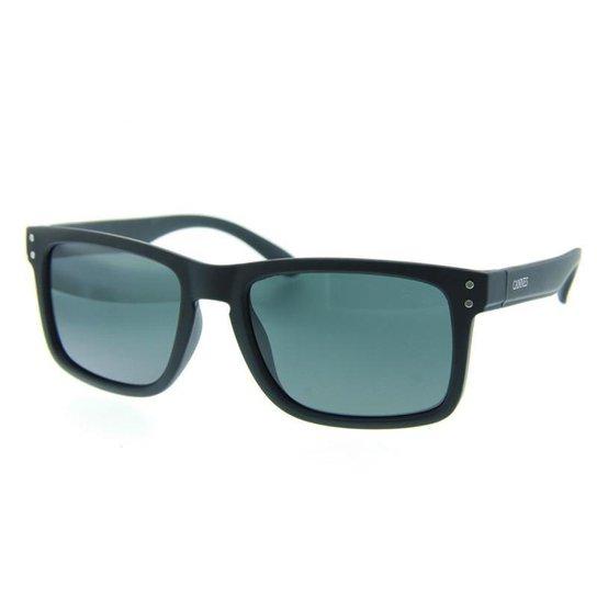 3419afff55 Óculos de Sol Cannes Quadrado Lente Acrílico Masculino - Preto ...