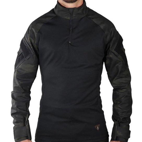 5e2ec9afd Camisa Tática Treme Terra Combat Shirt - Preto