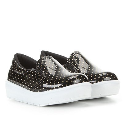 Tênis Bella Ninna Slip On Animal Print Feminino