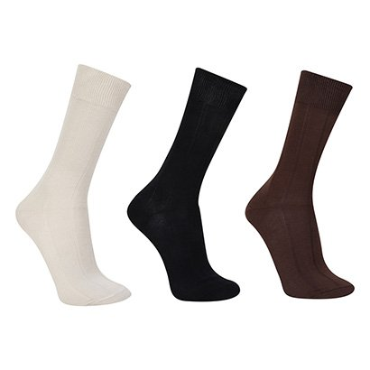 Kit Meias Trifil AM Casual 3 Pares Masculina