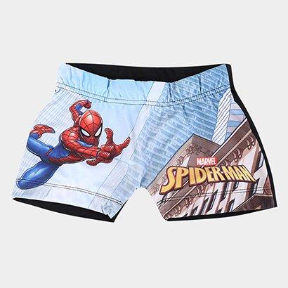 Sunga Infantil Tip Top Boxer Spiderman