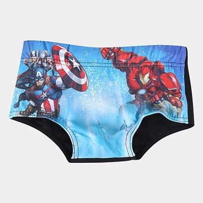 Sunga Infantil Tip Top Avengers Masculina