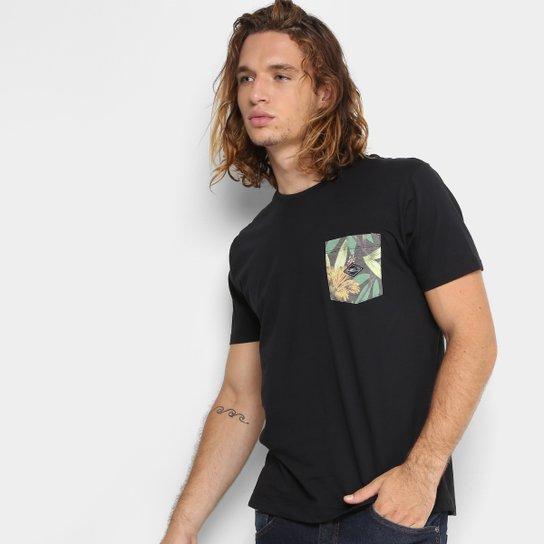 Camiseta O Neill Esp Tropic Pocket Masculina - Compre Agora  f2afbe13bd4