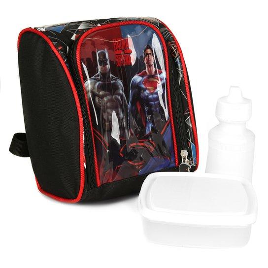 921e4f345 Lancheira Luxcel Batman Vs Superma Infantil - Compre Agora | Netshoes
