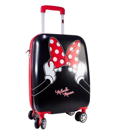 ef563ca29 Mala de Viagem Infantil Luxcel Minnie Mouse MF10121MI Feminina - Preto
