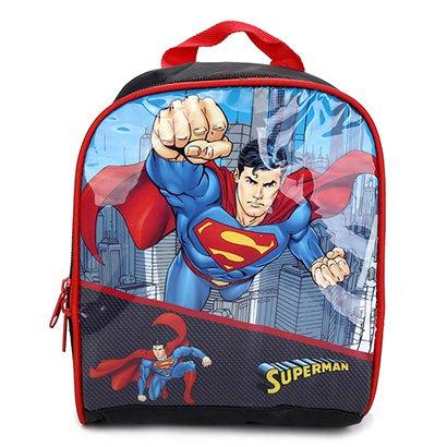 Lancheira Escolar Infantil Luxcel Superman