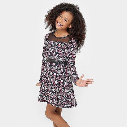 Vestido Lilica Ripilica Floral Infantil