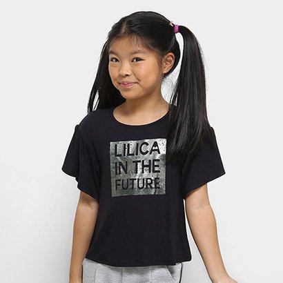 Blusa Infantil Lilica Ripilica Stretch Feminina
