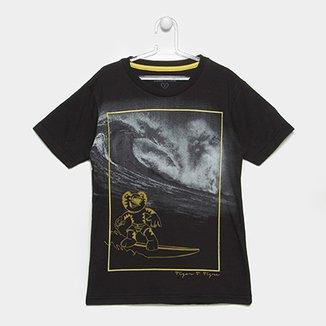 Camiseta Infantil Tigor T. Tigre Surf Masculina fa130d5e151