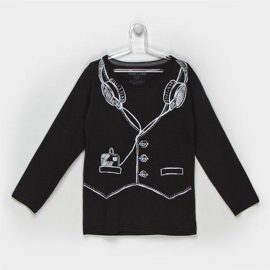 b507822dea Camiseta Infantil Tigor T. Tigre Botões Masculina - Compre Agora ...