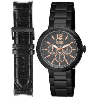 Relógios Dumont Masculinos - Melhores Preços   Netshoes 25b664fa85