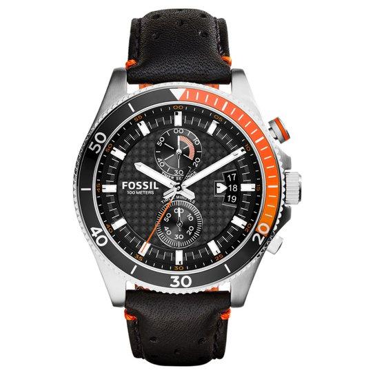 Relógio Fossil Analógico - Preto - Compre Agora   Netshoes cd0f83ddd2