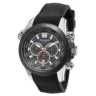 2864199ff1f Relógio Technos Performance Hora Mundi OS2AAL 8K 47mm