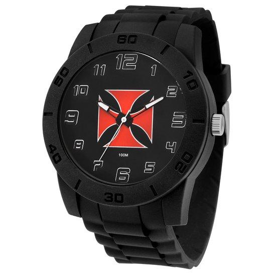 Relógio Technos Vasco Analógico II - Preto - Compre Agora   Netshoes 347e09fa0e