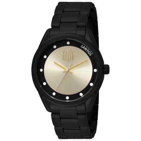 bf168fcd3d3 Relógio Santos Technos Analógico I - Preto - Compre Agora