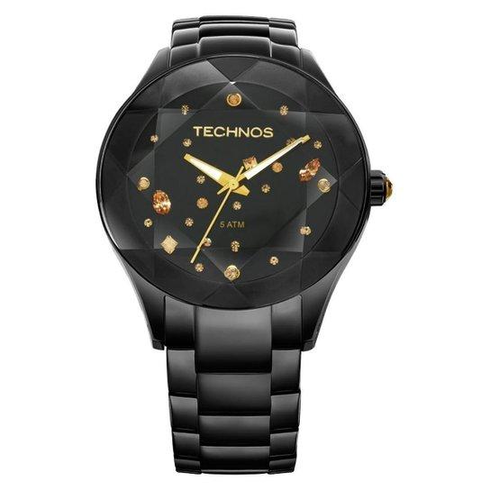 Relógio Technos Elegance Crystal 2039AU 1P - Compre Agora   Netshoes 2c0dad17fe