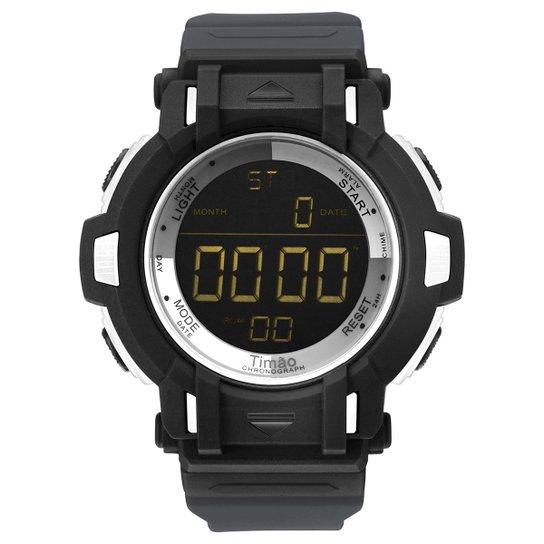 f74f6c2d3ff46 Relógio Corinthians Technos Digital 5 ATM Masculino - Preto - Compre ...