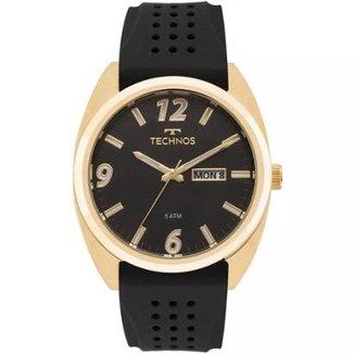 77fb7ec351 Relógio Masculino Technos 2305AT 8P Silicone